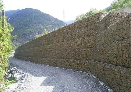 muros de gabiões serviços construção civil